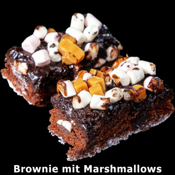 157. Brownie mit Marshmallows